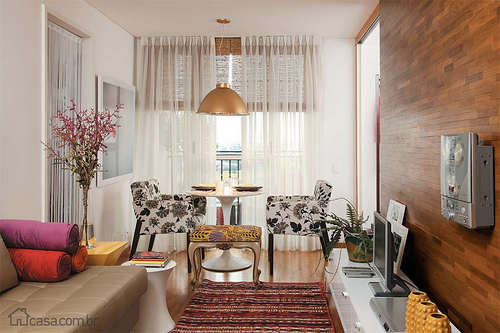Ideias fant sticas para decorar o seu apartamento pequeno for Mesas para apartamentos pequenos