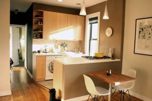 pequeno apartamento1 300x200 Ideias fantásticas para decorar o seu apartamento pequeno
