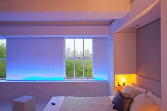 quarto apartamento led Decoração de apartamentos: Iluminação LED