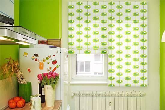 Cortinas decoradas - Tende a rullo per cucina moderna ...