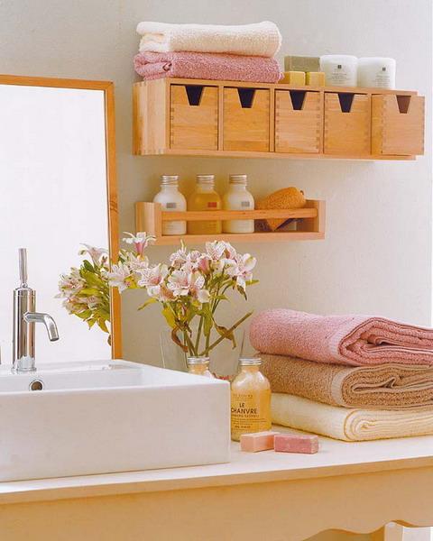 estantes gavetas ikea Ideias de arrumação para um banheiro pequeno