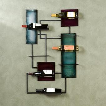 Decora o com garrafeiras modernas e originais - Porta vino ikea ...