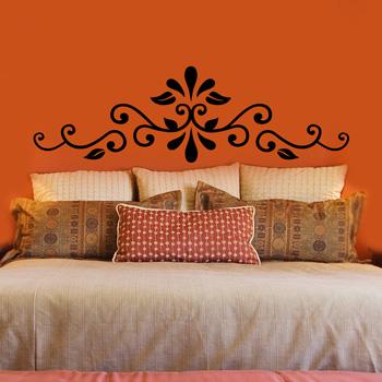 stencil Renovar a cabeceira da cama