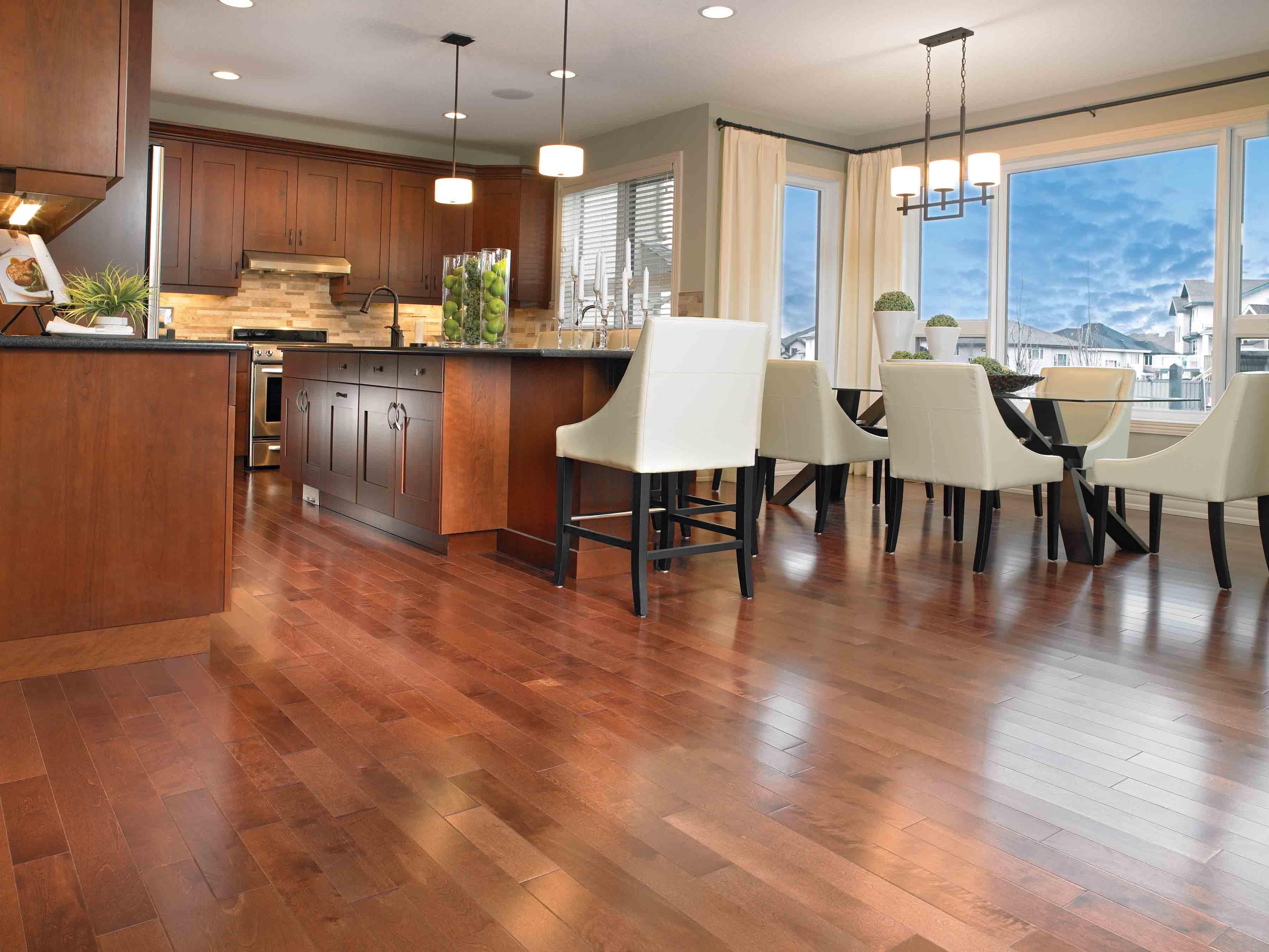 Kitchen Hardwood Flooring 3600 x 2702