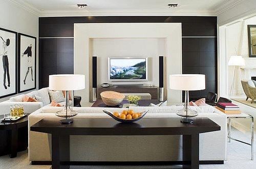 Como organizar os m veis da sala de estar for Organizar una sala de estar