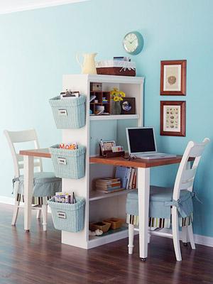 escritorio Como decorar divisões multifuncionais