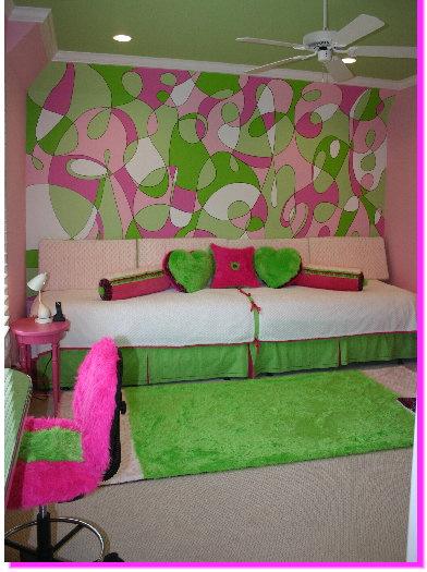 verde quarto adolescente Decoração alegre e divertida para o quarto de uma adolescente