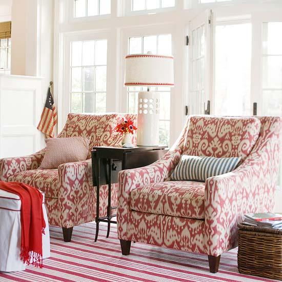 vermelho poltronas Dicas para decorar com vermelho