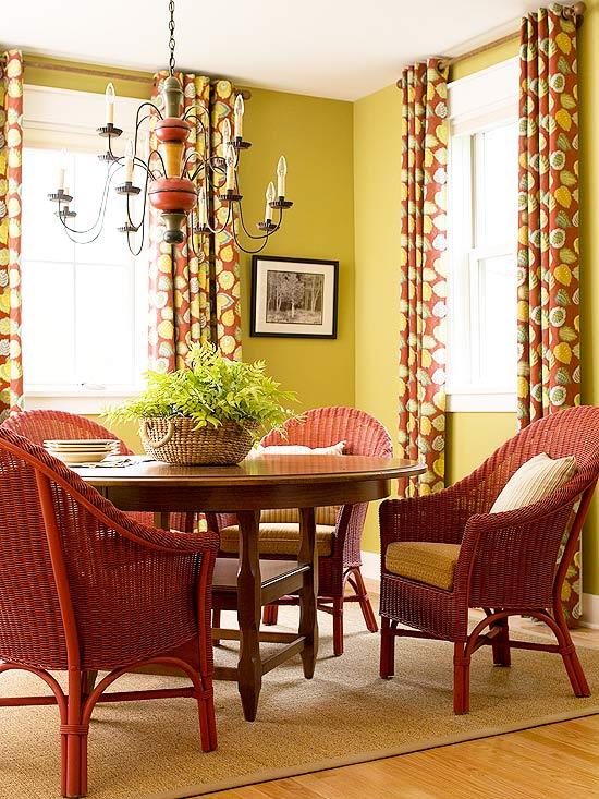 vermelho salas Dicas para decorar com vermelho