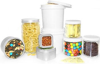 caixas alimentos Como criar espaço de arrumação em cozinhas pequenas