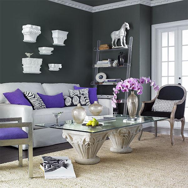 cinza-decoração-sala