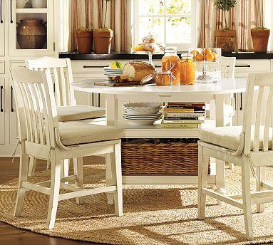 mesa Como criar espaço de arrumação em cozinhas pequenas