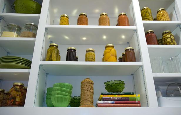 orgazina%C3%A7%C3%A3o Como criar espaço de arrumação em cozinhas pequenas