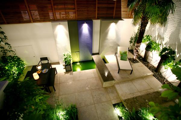 ilumina%C3%A7%C3%A3o patio Dicas de decoração para um pequeno pátio