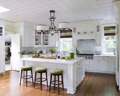cozinha branca3 Ideias de decoração para uma cozinha de cor branca