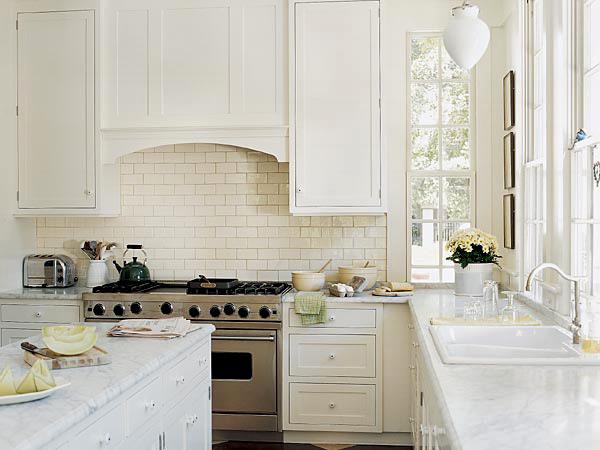 decor cozinha branca Ideias de decoração para uma cozinha de cor branca