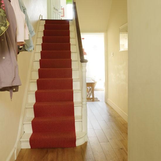 Exponha fotografias. As escadas ...