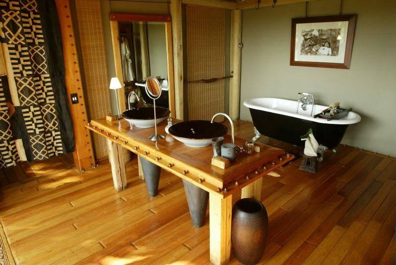 banheiro africa Decoração com um toque de África
