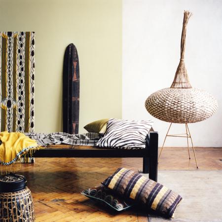 decoracao africana Decoração com um toque de África