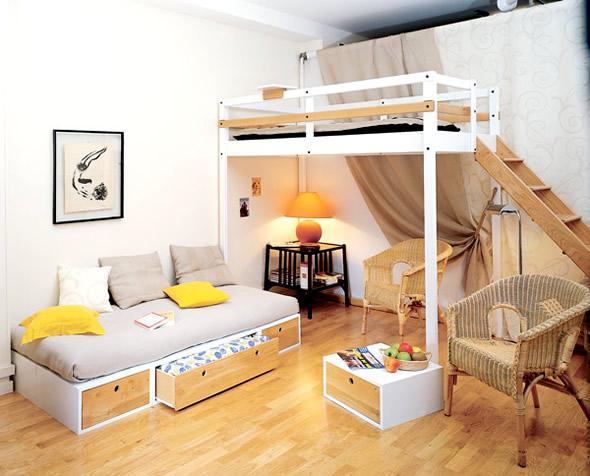 quarto pequeno1 Como mobilar espaços pequenos
