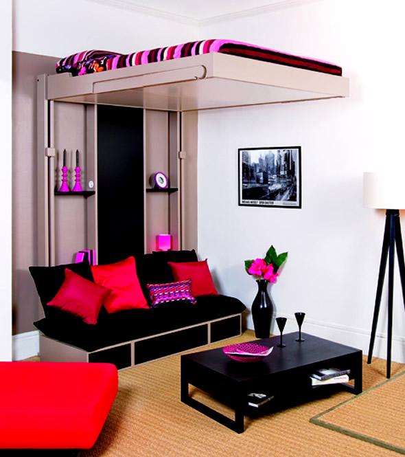 sala pequena Como mobilar espaços pequenos