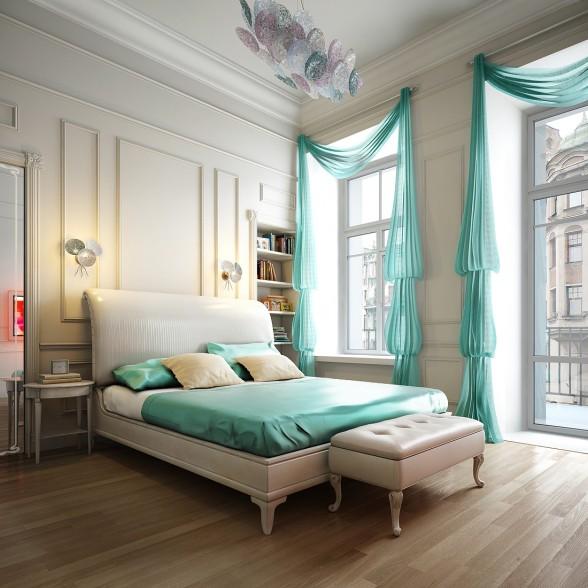 quarto-cortinados