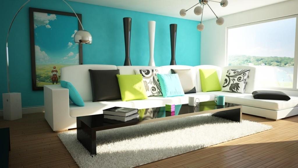 Gostam da decoração desta sala? Eu gosto e adoro a vista...;)