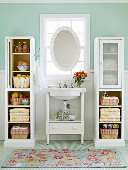 arruma%C3%A7%C3%A3o banheiro Ideias de decoração para um banheiro familiar