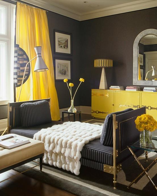 cinzento-amarelo