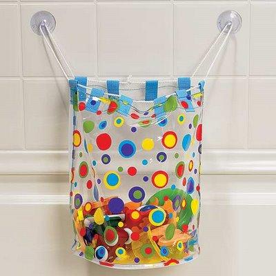 saco brinquedos Ideias de decoração para um banheiro familiar