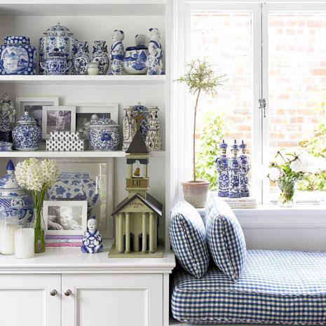 decor branco azul Como dar um ar mais luxuoso ao apartamento sem gastar muito dinheiro