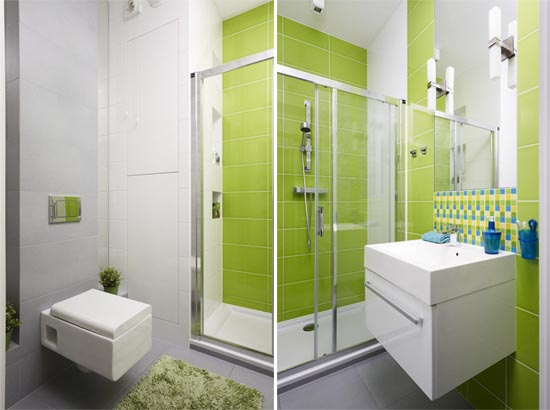 Green-Bathroom-Design-in-Apartment-by-Widawscy-Studio-Architektury-09