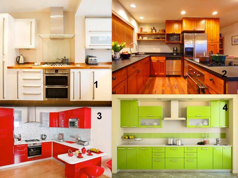 De qual das cozinhas gosta mais?
