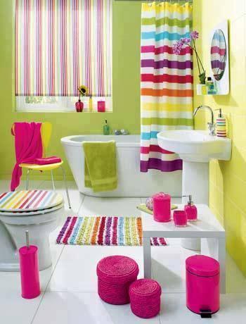 #Banheiro muito #colorido.