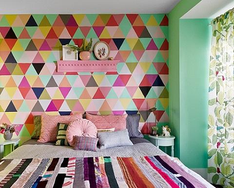 parede-geometrica-no-quarto