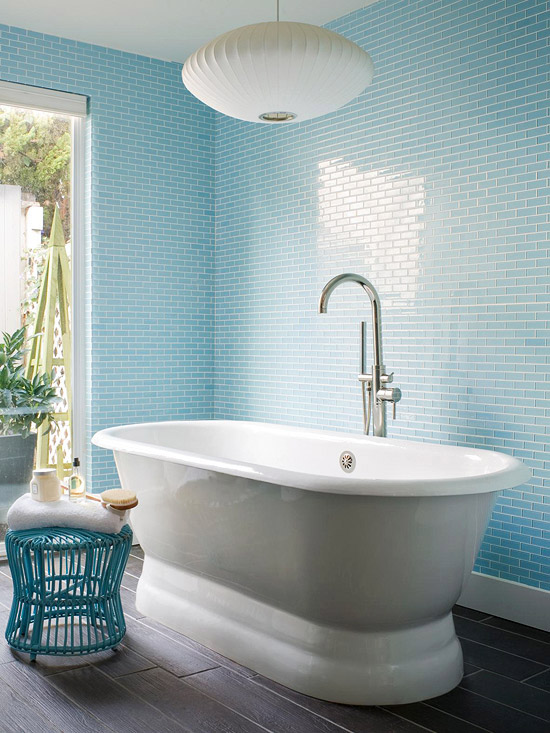 Dicas De Decorao Banheiros Com Azul