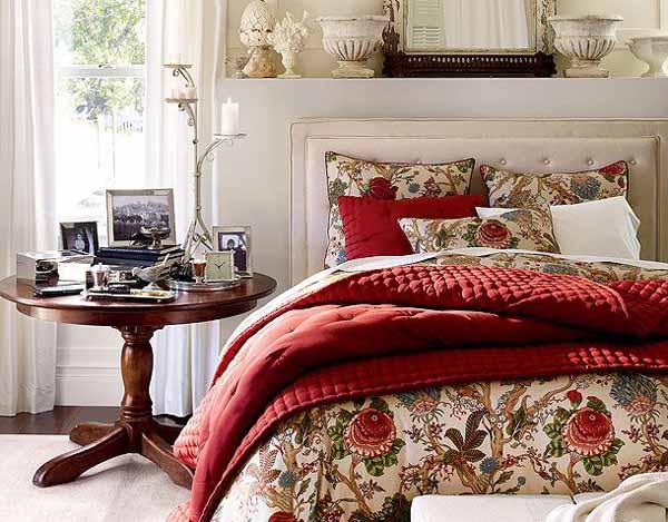 cama-colcha-vermelha