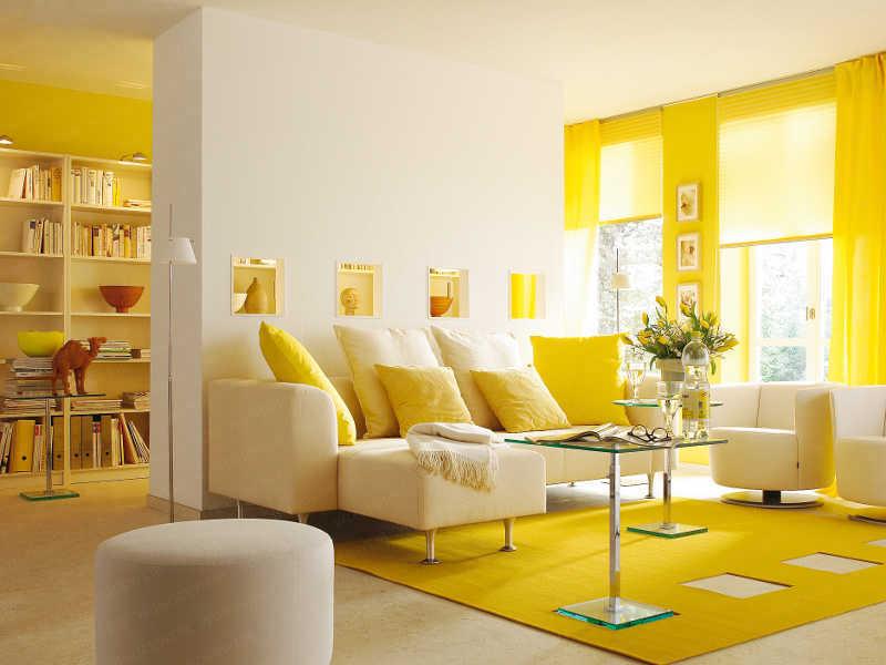 sala-amarela
