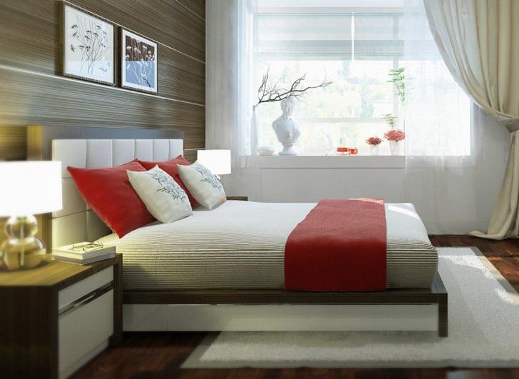 Decoração de interiores de quartos