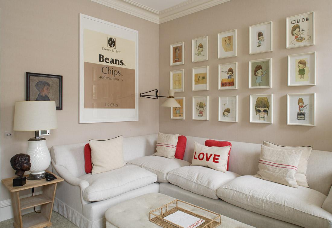 Decora O De Interiores De Salas -> Decoracao De Sala De Estar Pequena E Barata