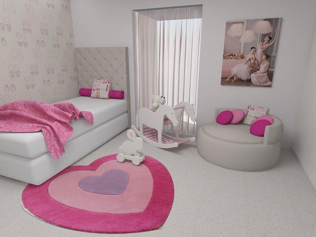 decoração de quarto de menina 1