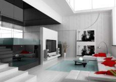 Decoração moderna estilo e elegância em poucas dicas