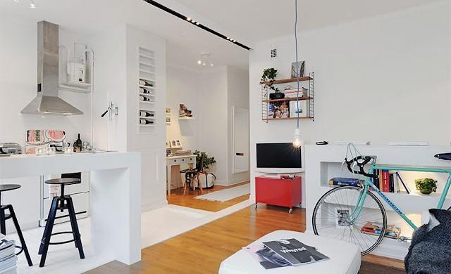 Truques para fazer a decoração de espaços pequenos