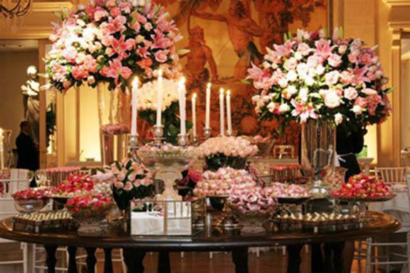 decoração de casamento estilo clássico