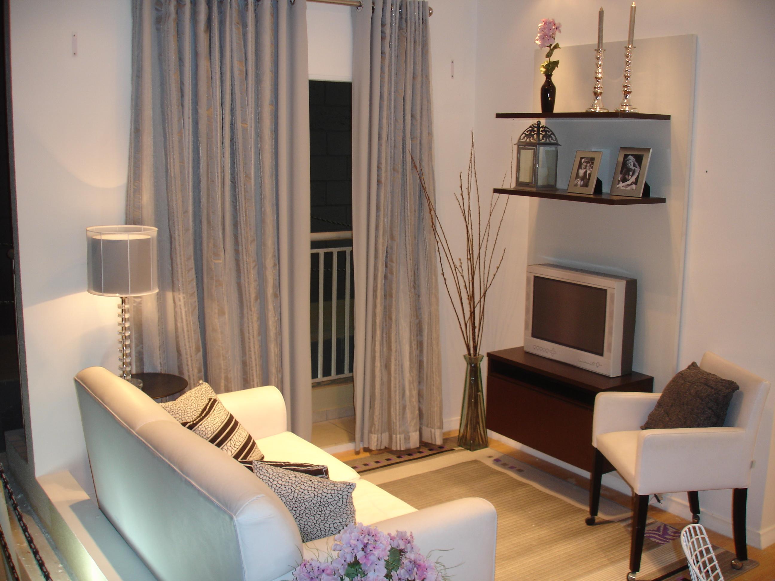 revista decoracao de interiores cortinas:Truques para fazer a decoração de espaços pequenos