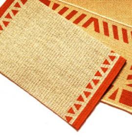 Limpeza de tapetes de sisal