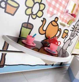 Móveis divertidos para quartos de criança