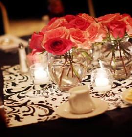 Ideias para arranjos e centros de mesa com rosas