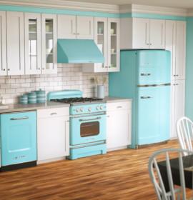 Cozinhas retro: decoração divertida e original