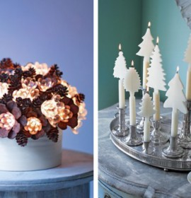 Decorações de Natal – decoração da mesa